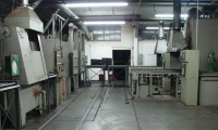 One room of batch IQ and tempering furnaces